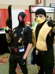 Weapon-X Deadpool and Scorpion by Deadfish-Comics