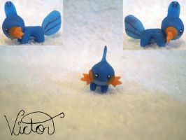 258 Mudkip by VictorCustomizer