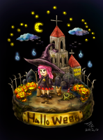 Happy HalloWeen by ferroustim