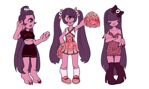 Woon Outfits by InkPotion