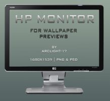 HP Monitor by Arclight-17