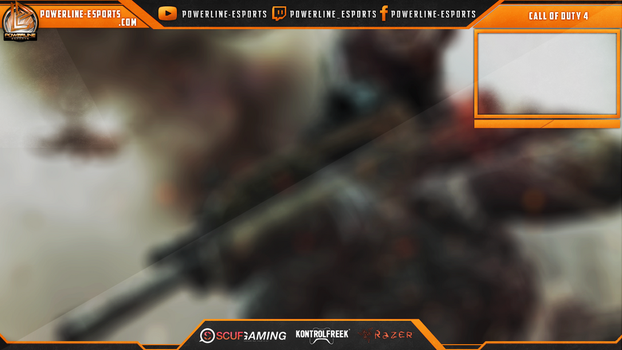 [FOR SALE] Powerline Esports Twitch.TV Overlay #3 by sweexdesigns