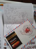 Penpal Outgoing mail (eventually) XD by McMuffinNinjaFluffer