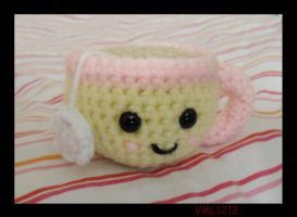 amigurumi tea cup by VML1212
