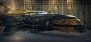 Space Racer UB666 by Shue13