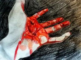 Blood On My Hands by MonsieurJackass