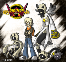Digimon re:CONNECT: The Siren by glitchgoat