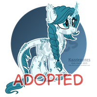 Ice Kirin Auction [CLOSED] by Kazziepones