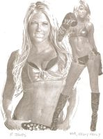WWE, Kelly Kelly by eazy101