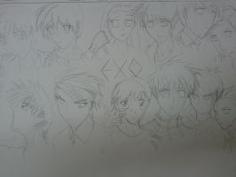 EXO in HISTORY by s0ph14luvukn0w