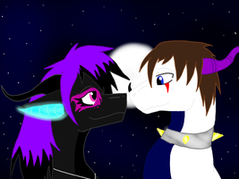 Contest Entry-Love in the Night by BlackDragon-Studios