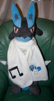 DJ Vinyl Scratch Embroidered Scarf by GothyBeans