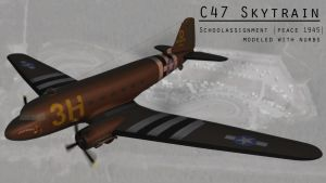 C47 Skytrain by strayferret