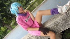 Bulma cosplay by GenesisMoon