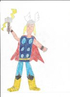 Thor by vasglorious