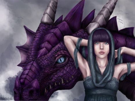 Dragon Tamer by itsLanique