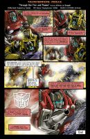 THROUGH THE FIRE AND FLAMES by Transformers-Mosaic