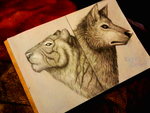 Spirit animals by RetroCharo