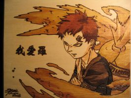 Gaara Woodburn by Obidesuka