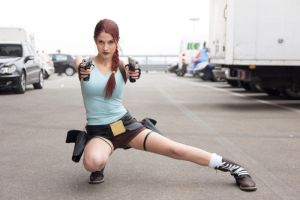 Lara Croft stock 01 by Blunastock