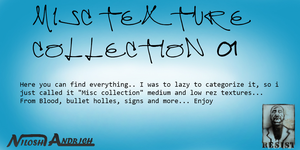 Misc Texture collection 01 by Milosh--Andrich