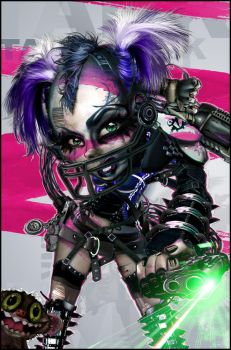 Tank Girl 20XL #00 by RAWhale