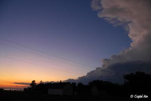 Storm over Sunset by CrystalAnnPhotos