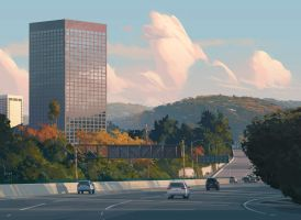 Fall in Los Angeles by robhrr