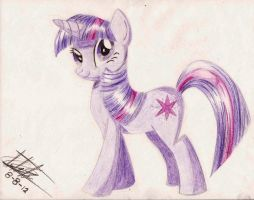 Twilight Sparkle by subject-Delta2
