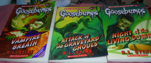 Goosebumps collection 1 by TMNTFAN85