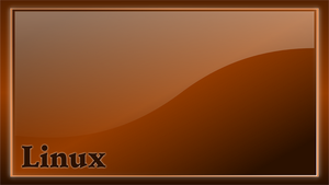 wallpaper linux brown by hatalar205