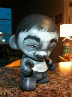 black and white munny by tylercoey