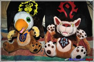 WoW - The plush pets by mchenry