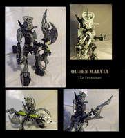 Bionicle MOCs: Queen Malvia by Shadowmarx