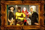 (Four of the) Secret Six by Adurosphoto