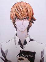 Light Yagami by fearlarsen