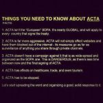 STOP ACTA by QueenSaphira