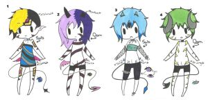 Jinni (closed species) offer adopts closed by Iloveyaoi4ever