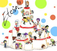 Etesia's cake is a lie by Koby-chan