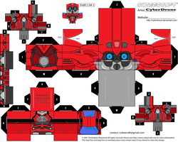 Cubee - Cliffjumper 'Movie' a by CyberDrone