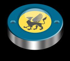 the griffin button by Cyklus07