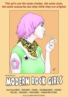 Modern rock girls by Vonvictor