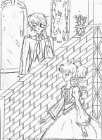 Ciel and Lizzy..... by 5akura28