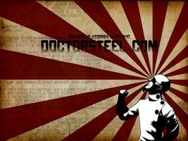 Dr Steel Wallpaper by scottmale24