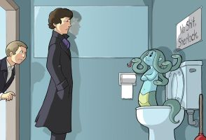 Modest Medusa versus Sherlock by JakeRichmond