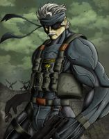 Old Snake Color by Madboy-Art