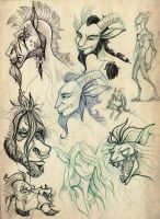 Fantasy creatures by TheOtherEarth