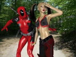 Harley is hot by Rachidna