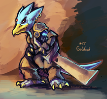 Sir golduck by Tchukart
