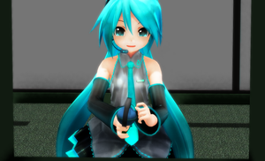 Miku Testing Out the new M39 Grenade by BlakeJX